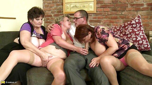 La plantureuse Helena baise deux bites film porno français amateur gratuit